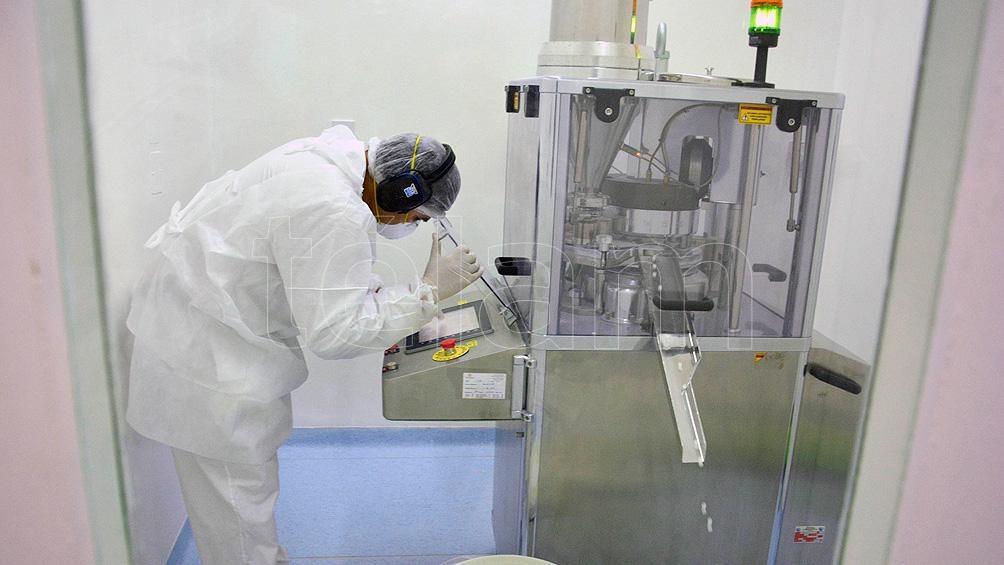El Laboratorio Industrial Farmacéutico de Santa Fe desarrolló desde julio del año pasado 300.000 pastillas.