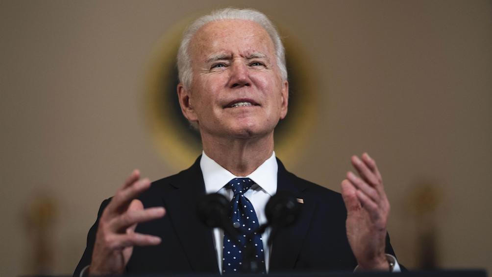 """""""Estamos juntos y seguiremos estando juntos para defender nuestro flanco oriental"""", expresó Biden"""