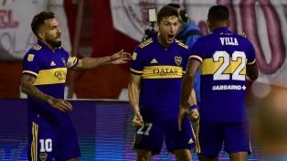Boca le ganó a Huracán y dio un gran paso hacia la clasificación