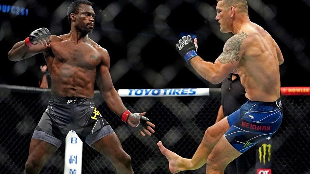 El impresionante video de la UFC en el que Weidman se fractura la pierna