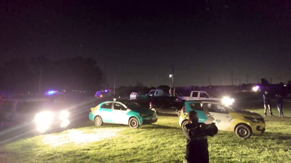 Fiesta clandestina en San Luis
