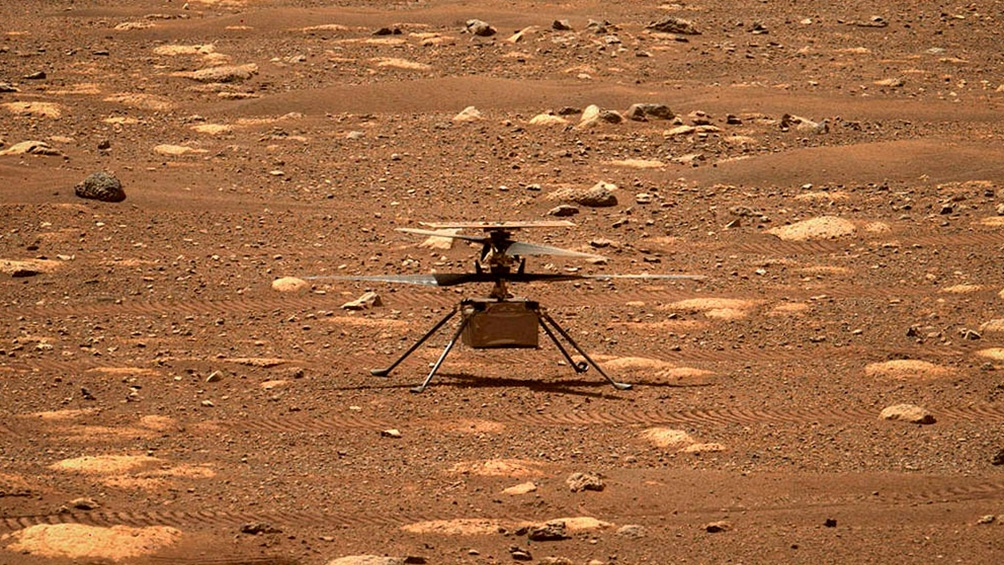 El helicóptero Ingenuity de la NASA extenderá un mes su misión en Marte