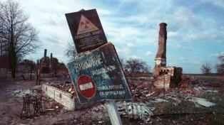 A 35 años del accidente nuclear en Chernobyl, Ucrania llamó a la solidaridad mundial