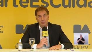 """Santilli: """"Si los casos suben, tomaremos medidas más restrictivas"""""""