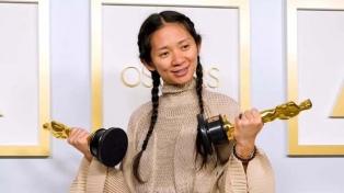 Redes sociales y medios chinos censuraron a la directora ganadora del Oscar