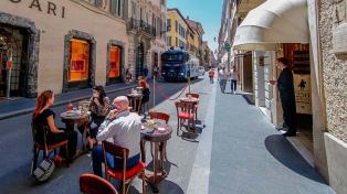 Italia perdió 1,5 millones de puestos de trabajo en el comercio por la pandemia