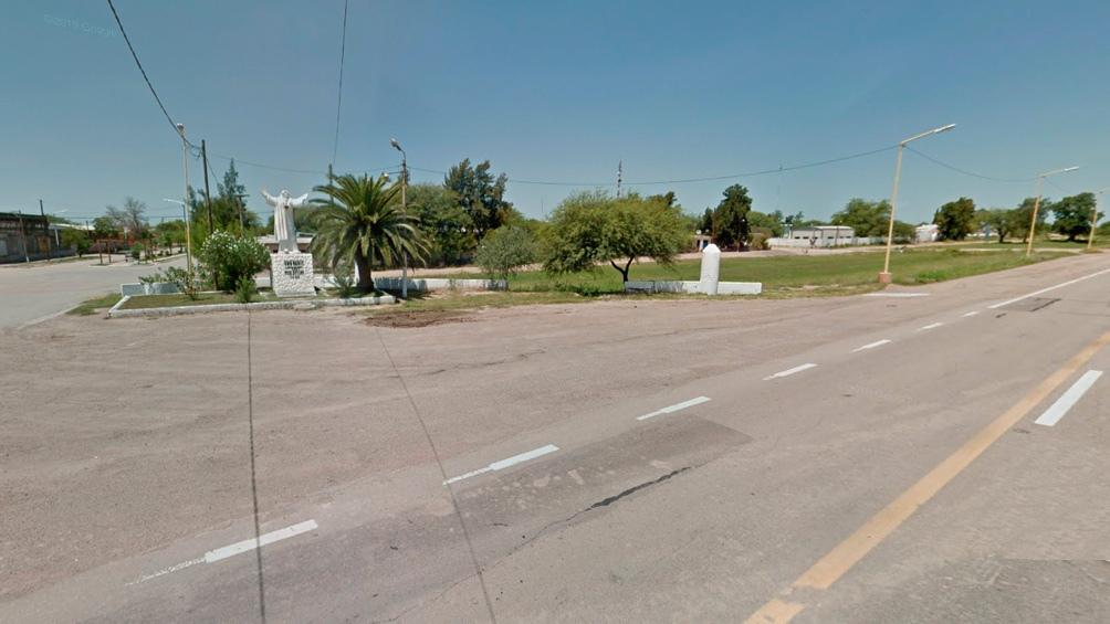 El sitio de la Ruta Nacional 34 donde ocurrió el accidente.