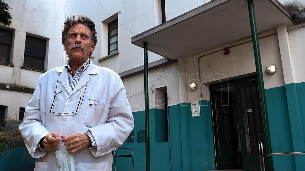 """Tomás Orduna advirtió que """"con  20 mil contagios por día, no hay sistema que aguante""""."""