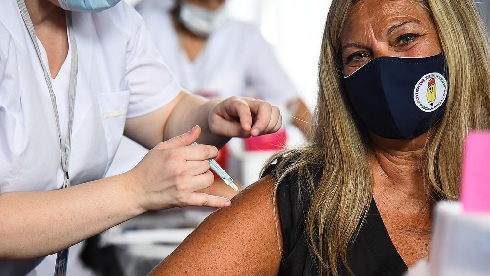 Según el Monitor Público de Vacunación, hasta este martes a la mañana fueron distribuidas 8.709.608 vacunas.