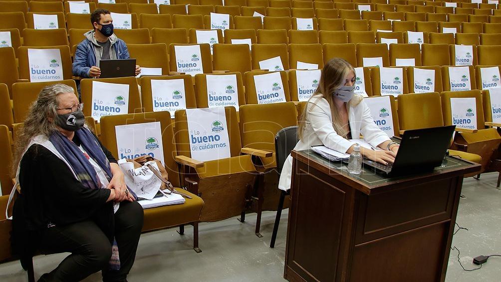La UNLPam puso a disposición dos aulas para reuniones de testigos o del mismo Tribunal.