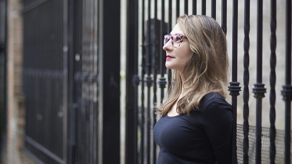 """Florencia Angiletta, autora de """"Zona de promesas""""."""