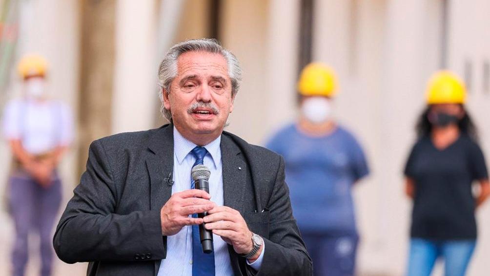 """Fernández: """"El trabajo mueve a las sociedades y dignifica"""""""