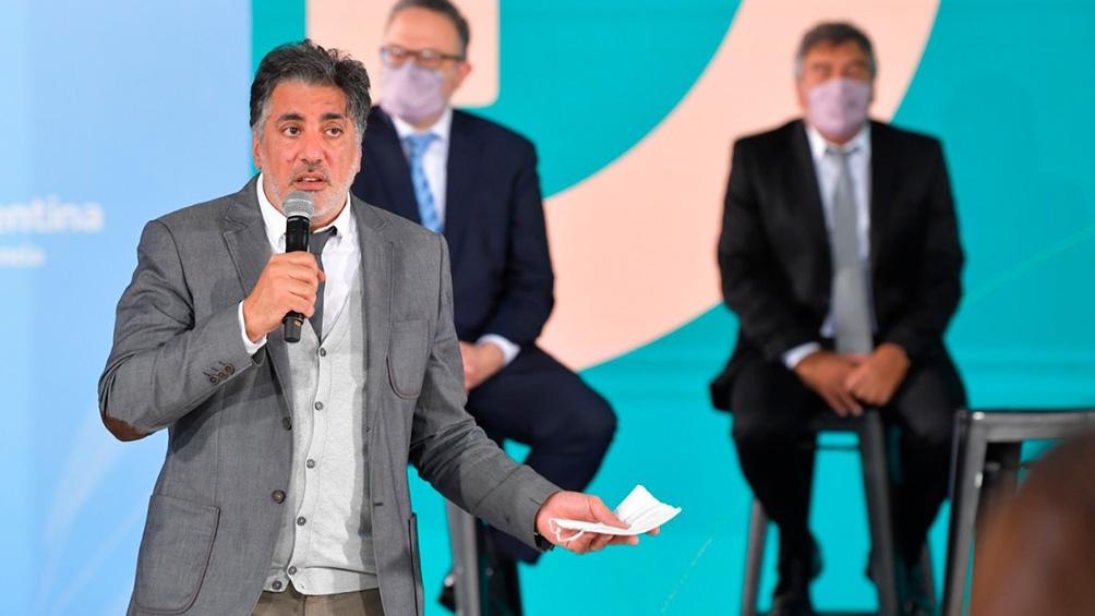Francisco Meritello, secretario de Medios y Comunicación Pública.
