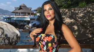 """Charlotte Caniggia, de """"Acapulco Shore"""" a la """"Academia"""" de Tinelli"""