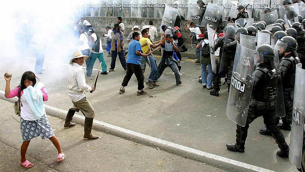 """COLOMBIA: Volvieron las protestas contra el Gobierno y Duque denuncia """"terrorismo urbano"""""""