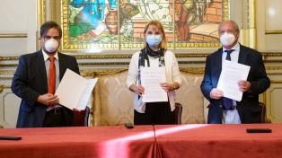Se firmó un programa artístico cultural entre el Teatro Colón y Scholas Ocurrentes