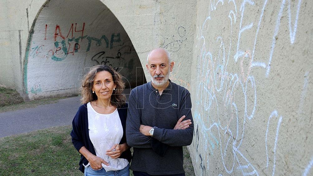Pablo Morosi y Sandra Di Luca.