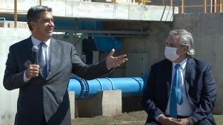 """Capitanich dijo que el acueducto de El Impenetrable es """"una reparación histórica"""""""