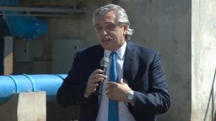El Presidente visitará un centro de vacunación en Pilar