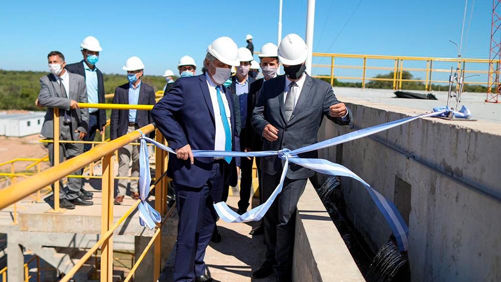 La obra permitirá completar la red de provisión de agua potable para Wichí el Pintado, El Sauzal, Nueva Pompeya y Fuerte Esperanza, incluyendo 60 comunidades rurales.