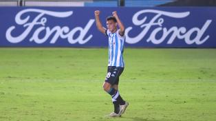 Buen triunfo de Racing ante Sporting Cristal en Avellaneda