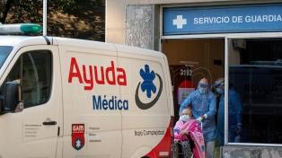Murieron 417 personas y 22.651 fueron reportadas con coronavirus en el país