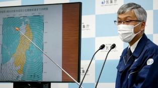 Un sismo de 6.8 grados causa heridas leves a tres personas en Japón