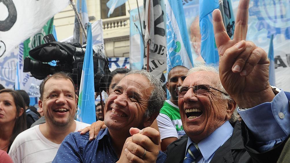 Recalde se manifestó a favor de la sindicalización de los trabajadores de la economía informal y de los empleados no registrados.