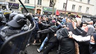 Al menos 34 detenidos durante las protestas del 1° de Mayo en París