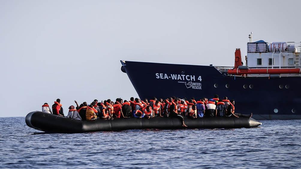 Desde el 1 de enero hasta el 30 de abril de este año llegaron por mar a Italia algo más de 9.000 migrantes.