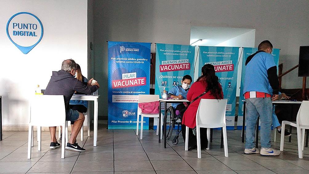 Las vacunas aplicadas hasta el momento en territorio bonaerense llega a 4.148.570.