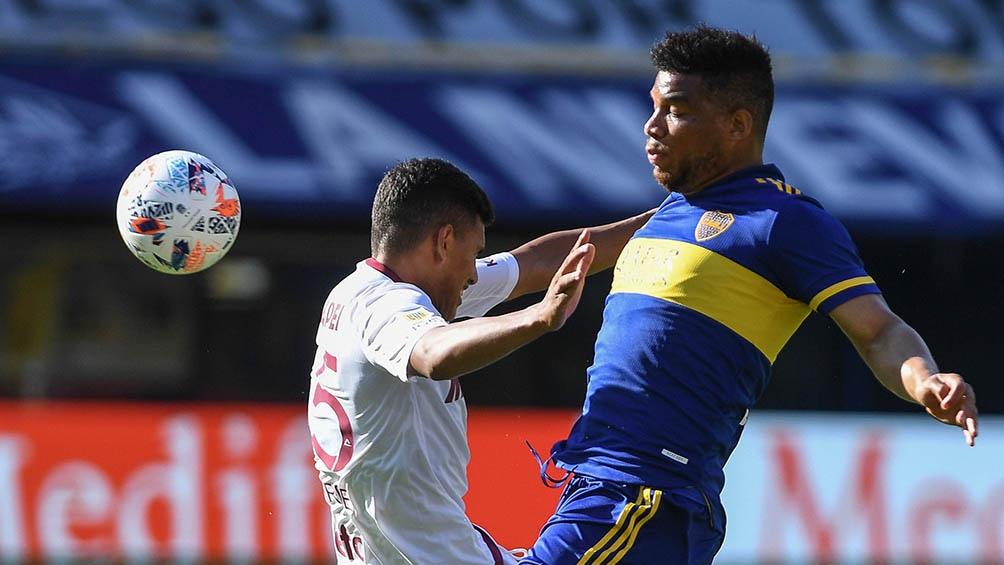 Fabra volvió a la titularidad en Boca tras la suspensión en Copa.