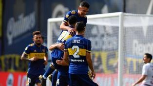 Boca le ganó a Lanús y se aseguró el pasaje a cuartos de final de la Copa de la Liga
