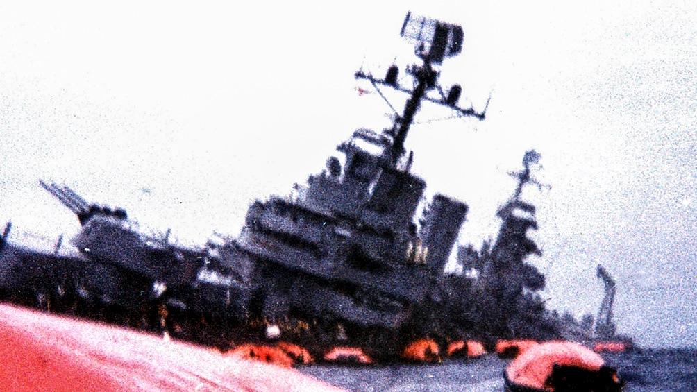 El crucero fue hundido por un ataque inglés durante la Guerra de Malvinas.