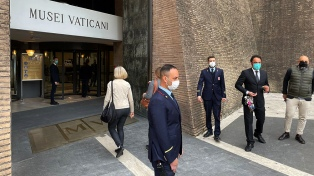 Cómo fue la reapertura al público de los Museos Vaticanos