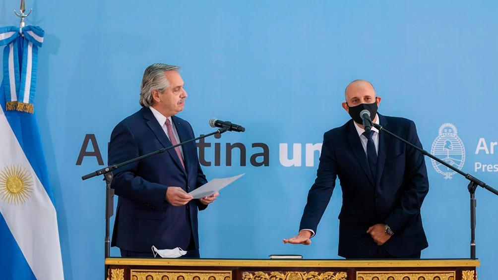Guerrera a fines del año pasado asumió como presidente de Trenes Argentinos