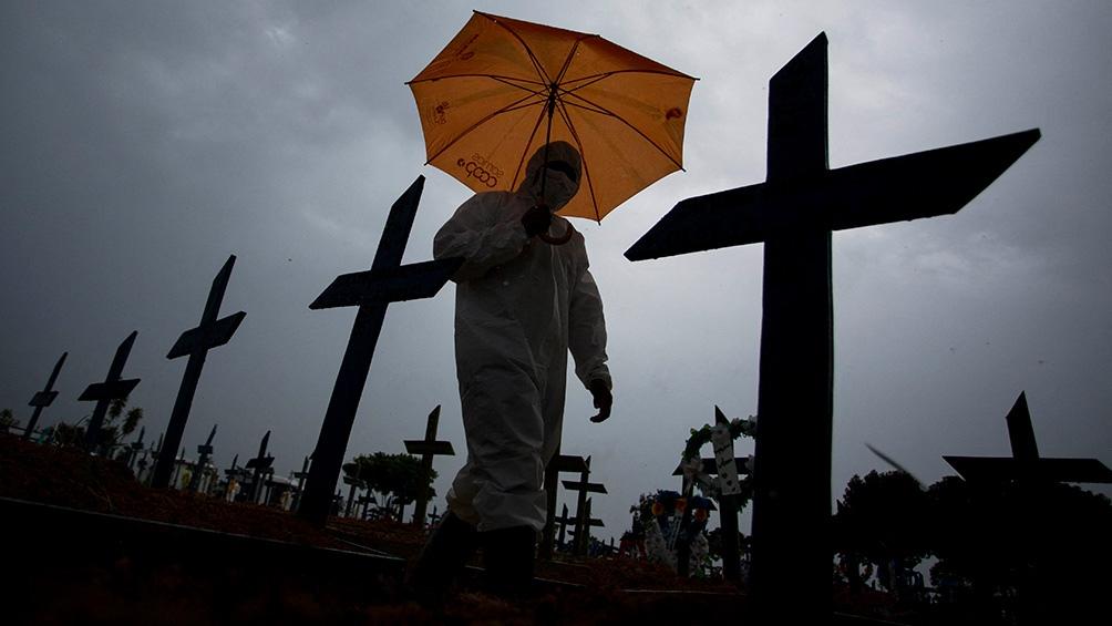 Brasil transita una dramática crisis sanitaria, con la cepa de Manaos, responsable del colapso hospitalario.