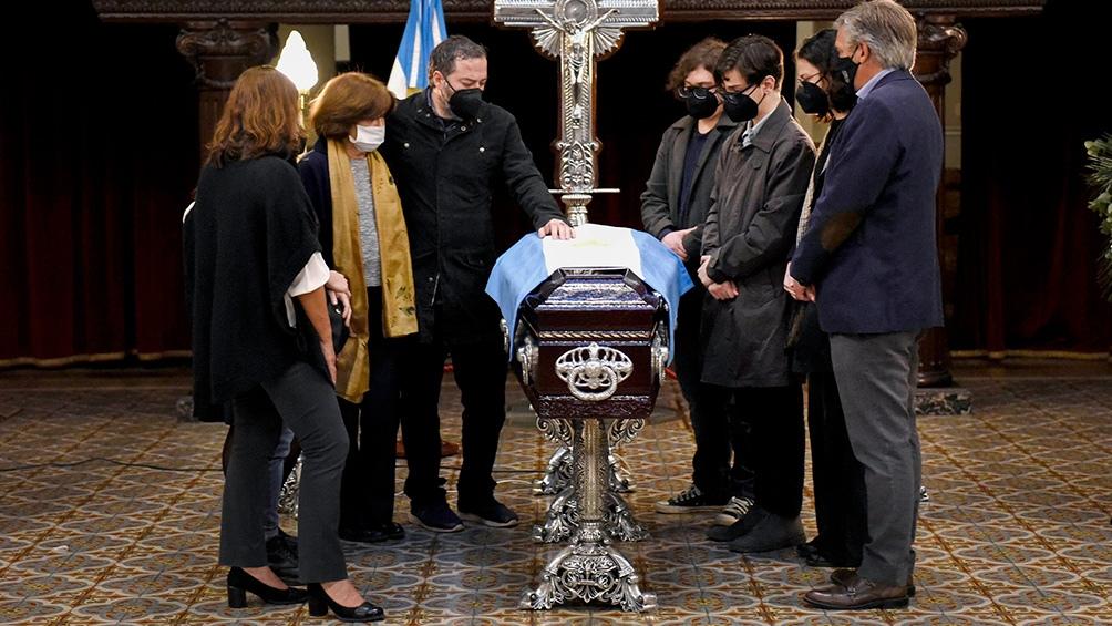 La exdiputada nacional murió este domingo a los 80 años.