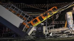 Al menos 23 muertos y 70 heridos en un accidente en el metro de la ciudad de México
