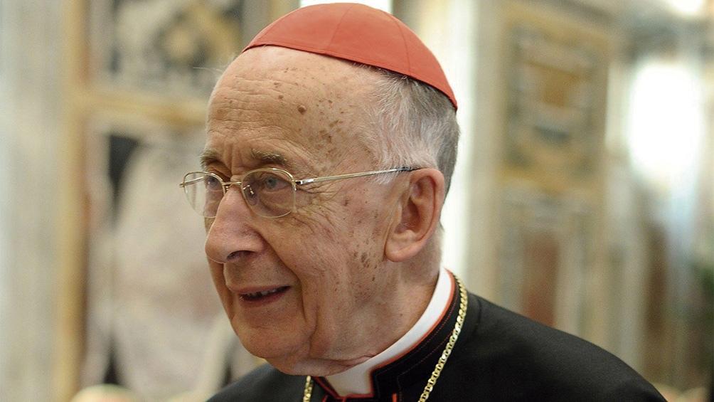 """""""El riesgo de cisma está"""", dijo el cardenal italiano Camillo Ruini, ex presidente de la Conferencia Episcopal."""