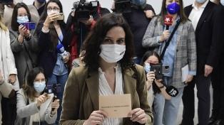 El conservador Partido Popular ganó con comodidad y retiene la Comunidad de Madrid