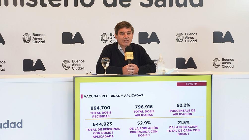 Quirós defendió las medidas para restringir la nocturnidad y los encuentros sociales
