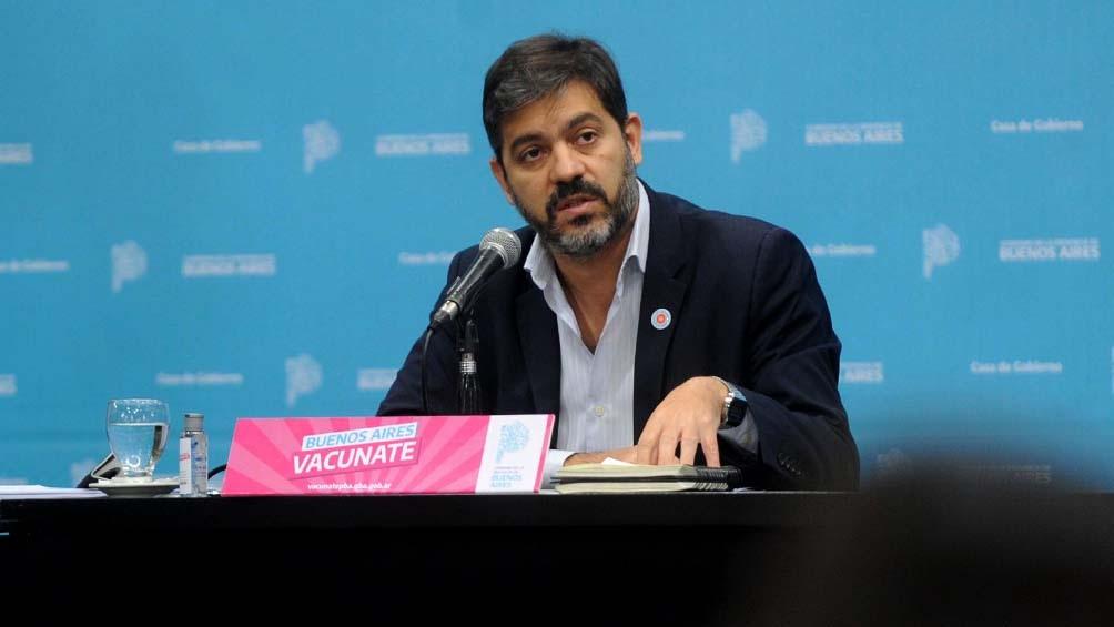 """Bianco: """"El AMBA, los 40 distritos del conurbano y la Ciudad, debe ser tratado como un espacio sanitario único""""."""