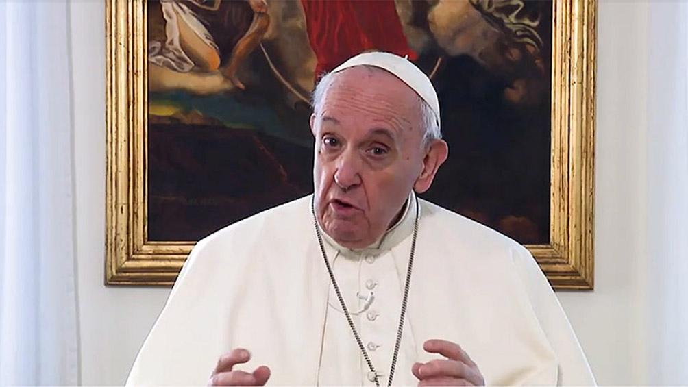 El papa Francisco envió un videomensaje a la 109 Conferencia Internacional del Trabajo de la OIT.