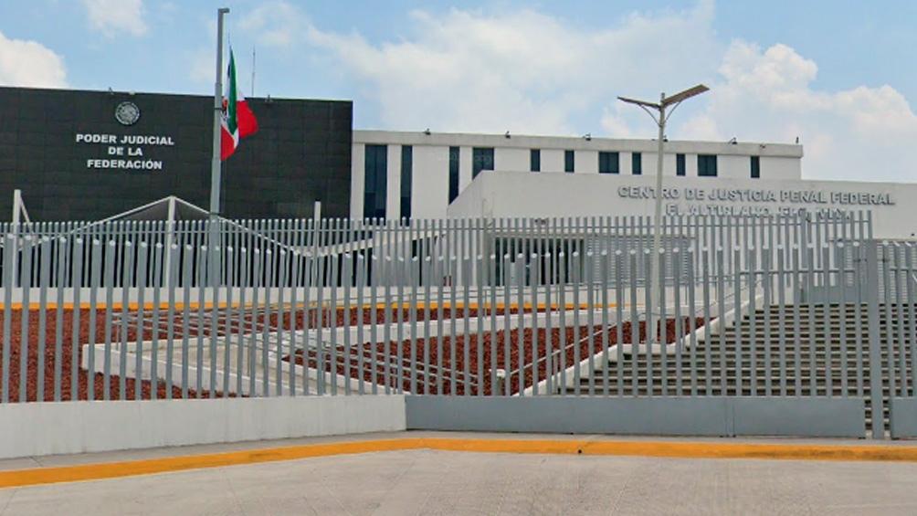 """Héctor """"El Güero"""" Palma salió del penal de máxima seguridad de Altiplano, pero tan solo ocho minutos después fue detenido."""