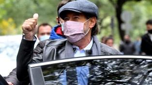 """Francella bajo """"Granizo"""" en Córdoba, dijo estar """"orgulloso y feliz de volver al ruedo"""""""