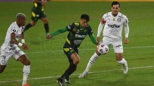 Defensa y Justicia cayó ante  Palmeiras en Florencio Varela