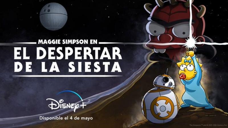 El corto de Los Simpsons para celebrar el Día de Starwars