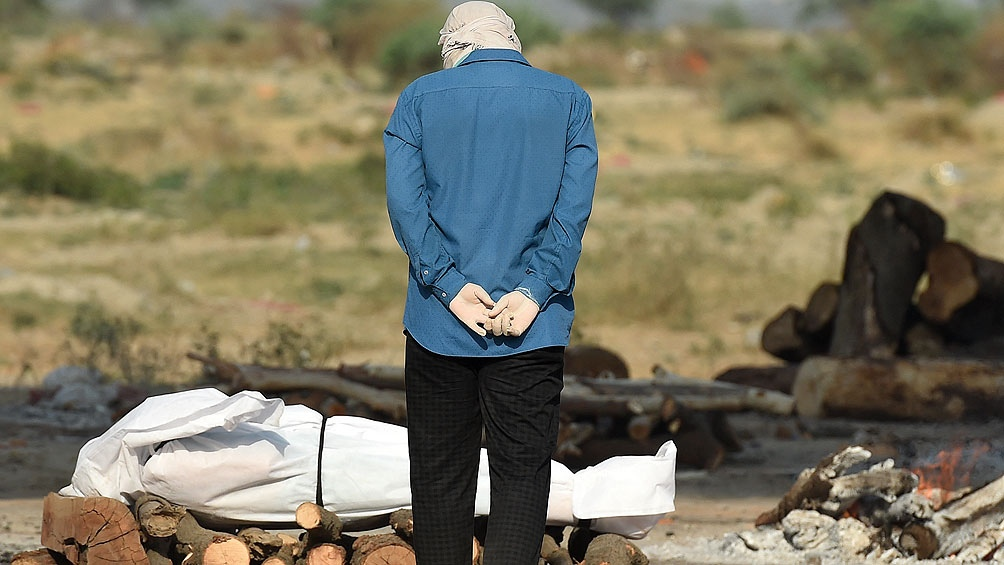 India superó los 4.000 muertos por segundo día consecutivo