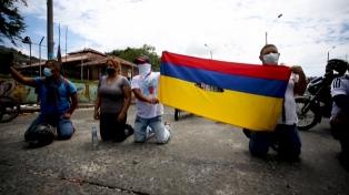 Un nuevo día de movilizaciones en Colombia